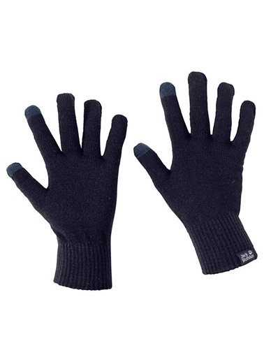 Jack Wolfskin Touch Knit Glove Unisex Eldiven - 1906391-1010 Lacivert
